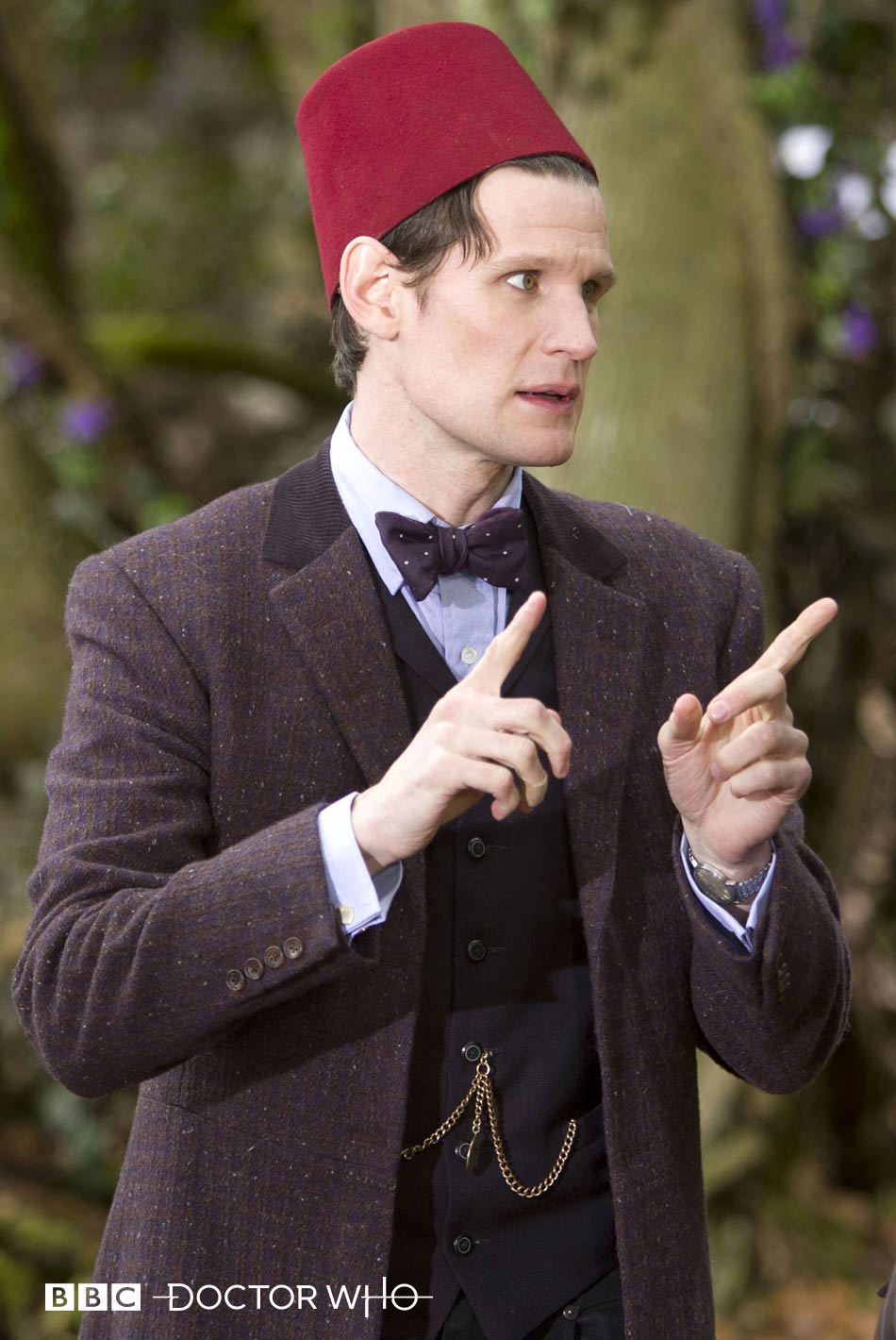Eleventh Doctor's Purple Bow Tie