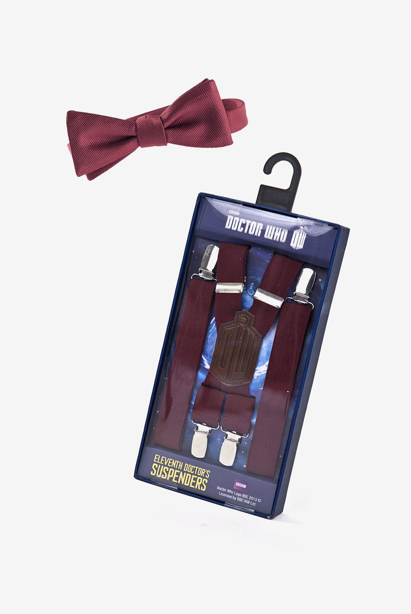 Eleventh Doctor's Suspenders & Bow Tie Bundle
