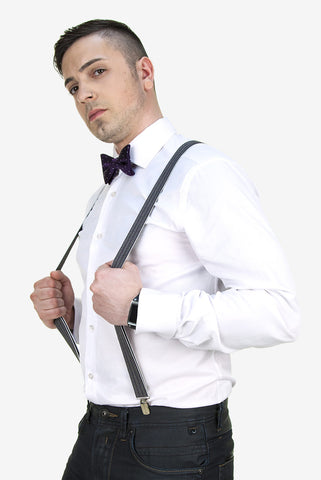 Eleventh Doctor's Purple Suspenders - AbbyShot - 1