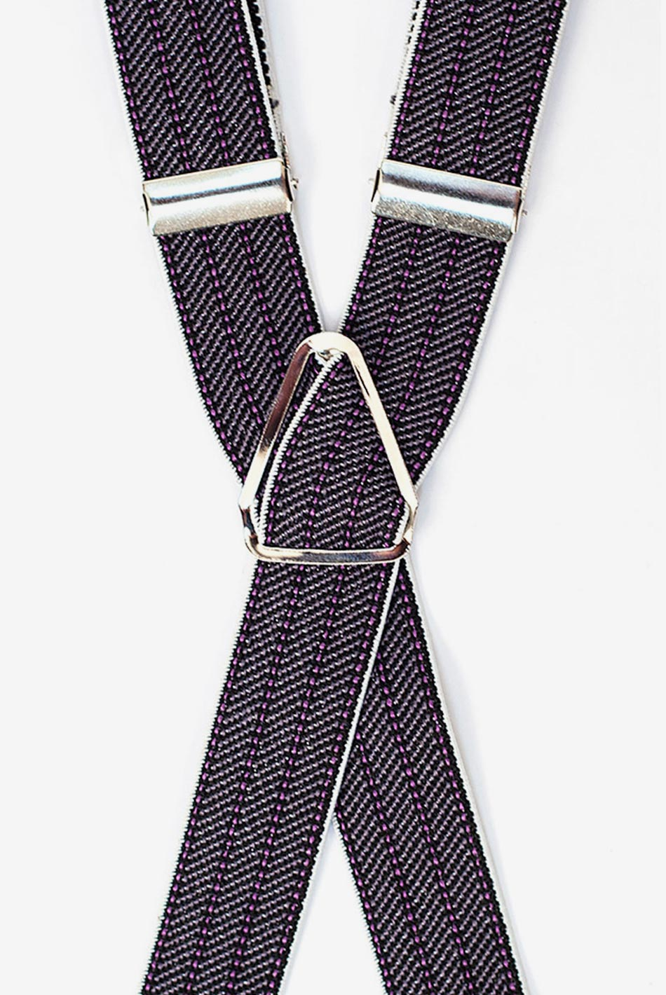 Eleventh Doctor's Purple Suspenders