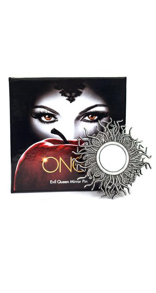 Evil Queen Mirror Pin - Once Upon A Time - AbbyShot