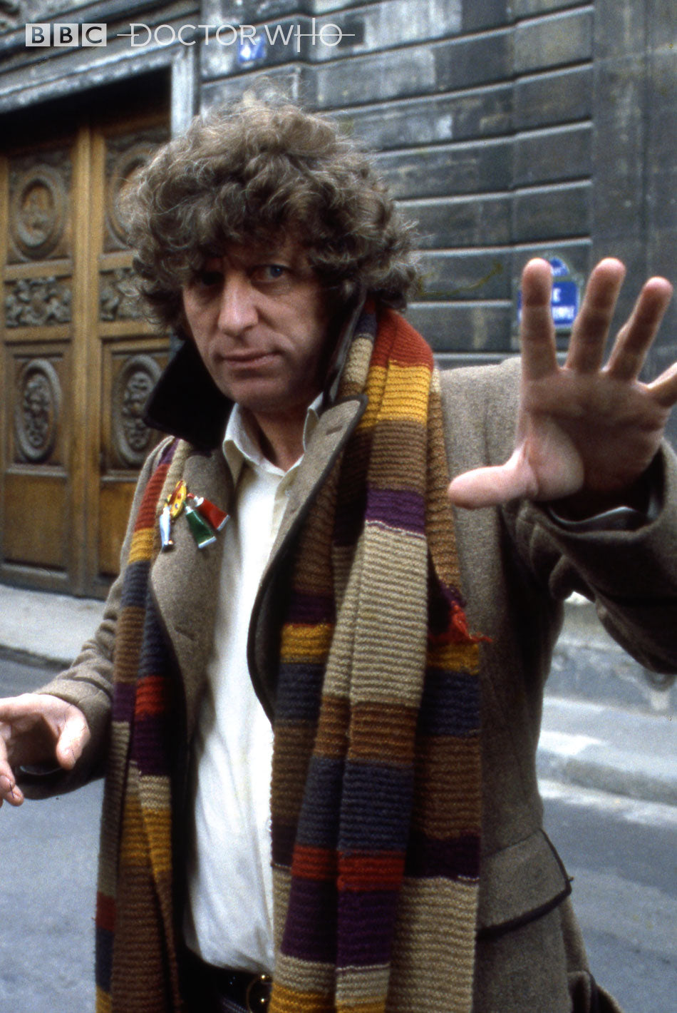 Fourth Doctor's Painter Lapel Pin