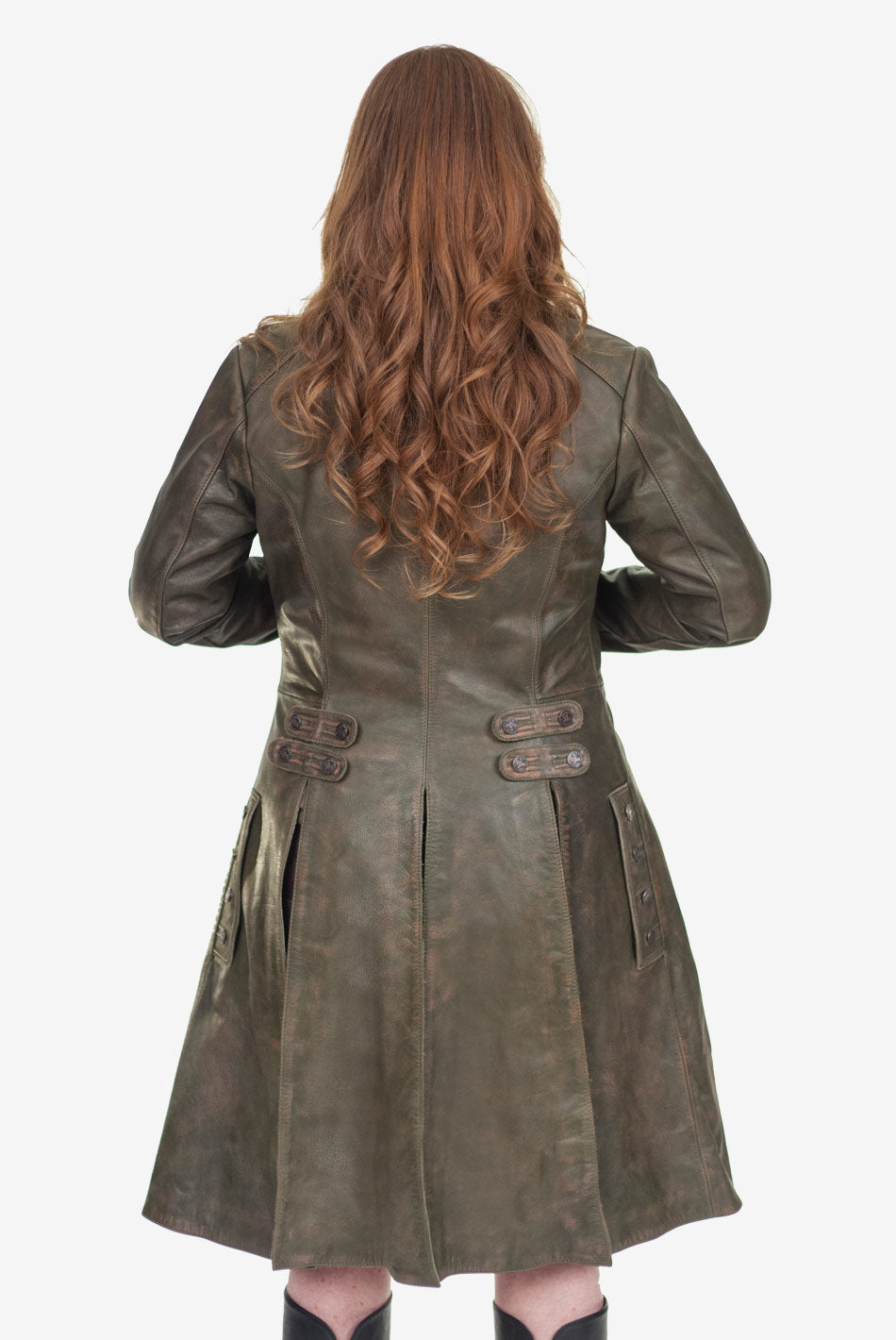 Ladies Jamie Fraser's Leather Coat