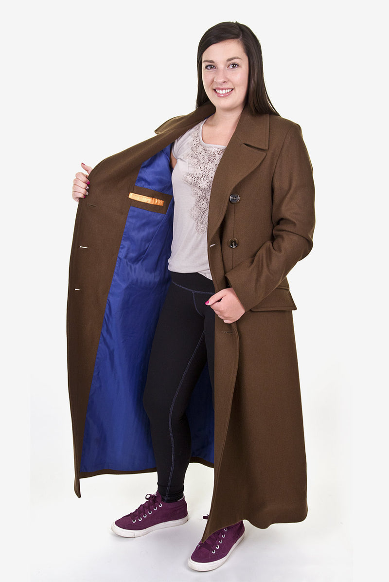 Ladies Tenth Doctor's Coat