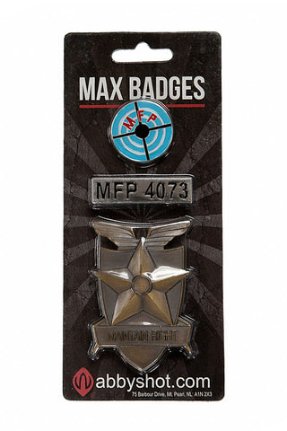 Max Badges Packaging