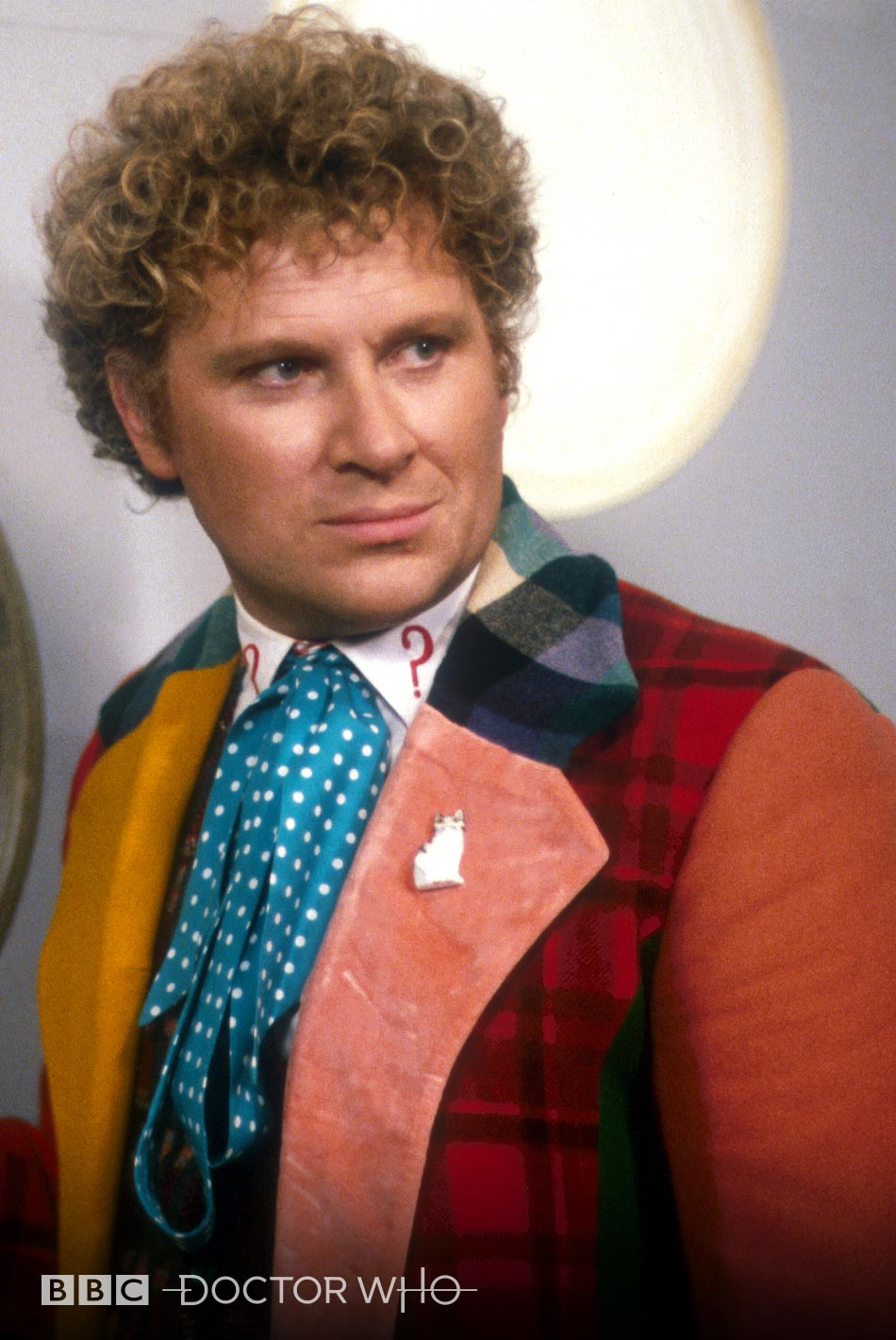 Inspired By Sixth Doctor's Cat Lapel Pin