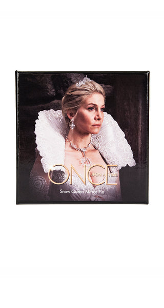 Snow Queen Mirror Pin - Once Upon A Time - AbbyShot