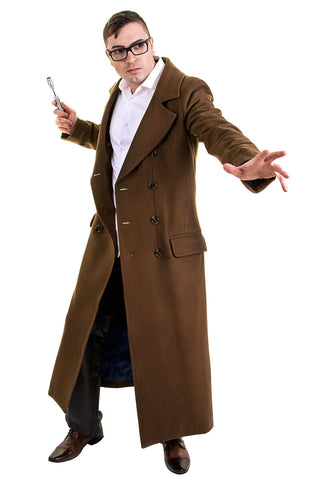 Tenth Doctor's Coat Front 2