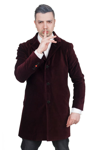 Twelfth Doctor's Red Velvet Coat
