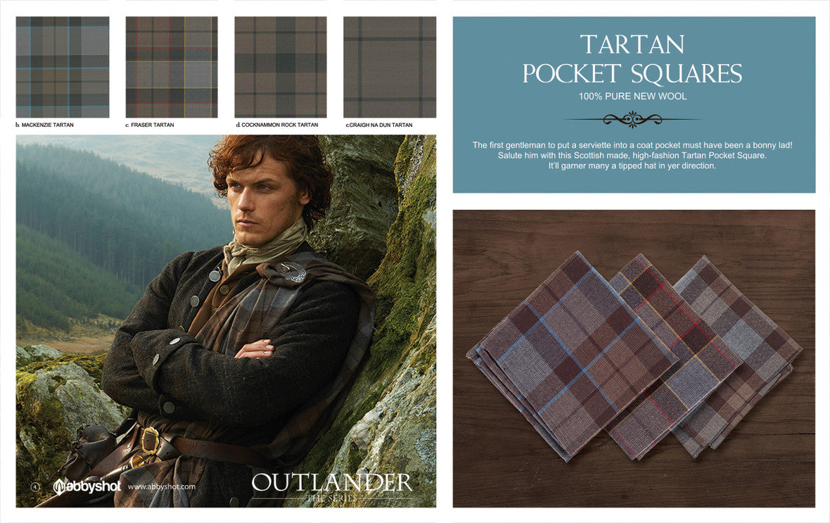 Outlander Pocket Square