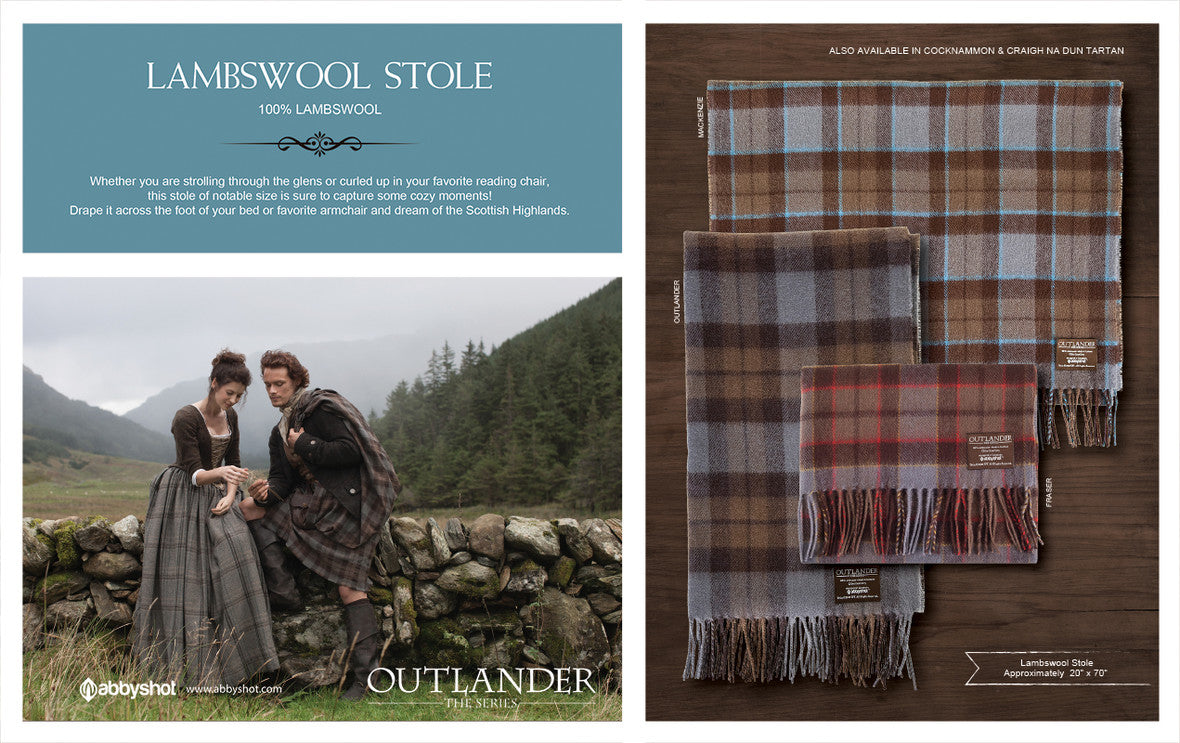 Outlander Lambswool Stole