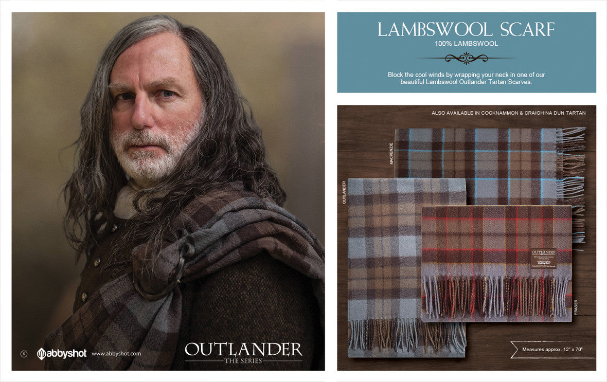 Outlander Lambswool Scarf