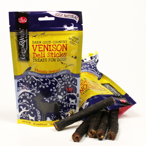 Venison Dog Deli Sticks