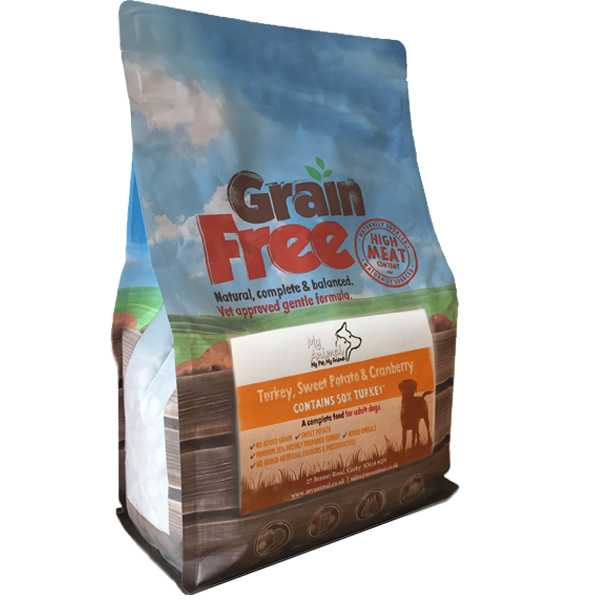 Adult Grain Free Turkey, Sweet Potato & Cranberry Sample