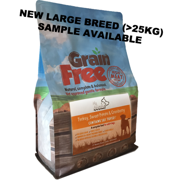 Large Breed - Adult Turkey, Sweet Potato & Cranberry Sample