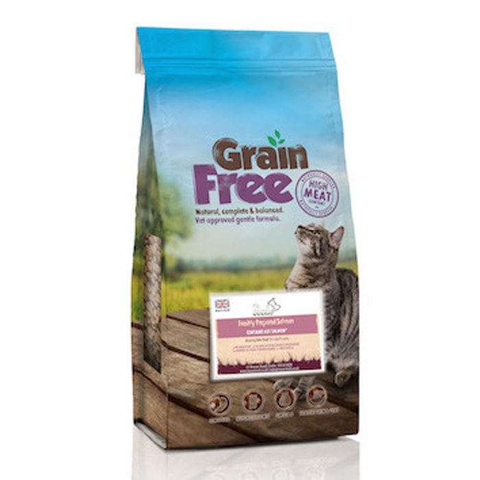 Super Salmon Grain Free Cat Food