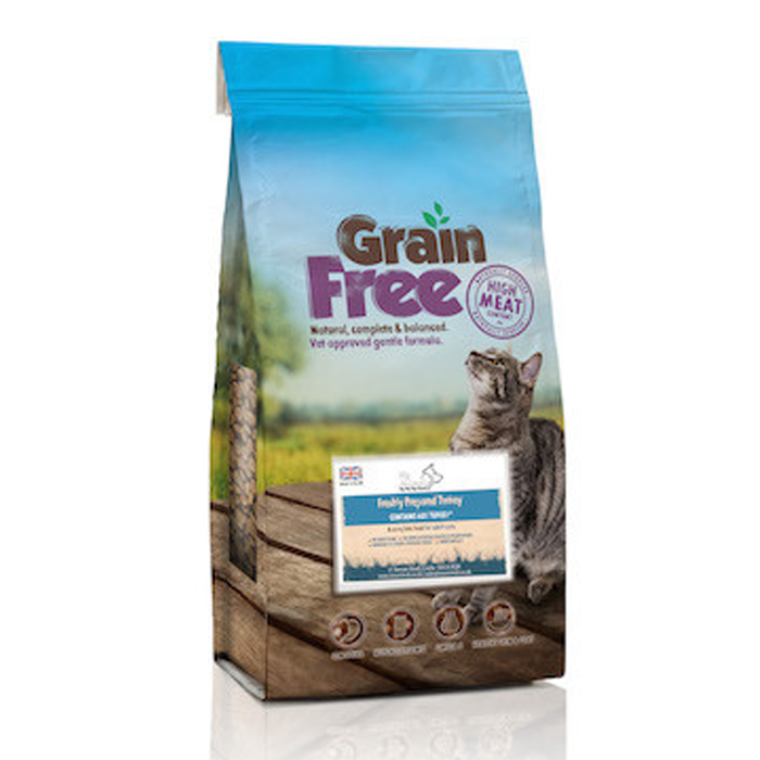 Tantalising Turkey Grain Free Cat Food - My Animal