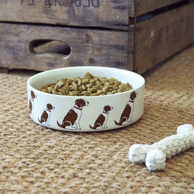 Springer Spaniel Dog Bowl - My Animal