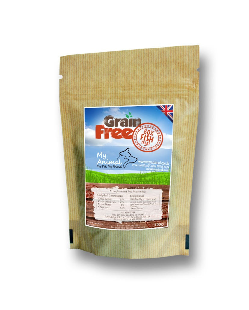 Grain Free Fish Treats - My Animal