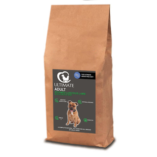 Grain Free Dog Food with Lamb by Ultimate Dog