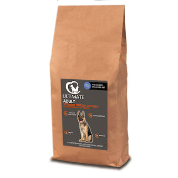 grain free chicken dog food by Ultimate Dog Food