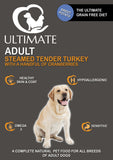 Grain Free Dog Food - with Turkey by Ultimate Dog
