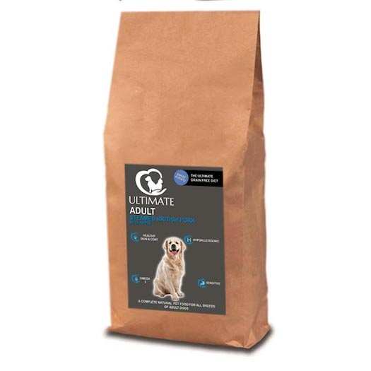 Grain Free Dog Food UK - With Pork by Ultimate Dog