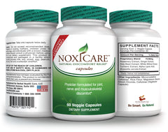 New Noxicare Natural Discomfort Relief Capsules