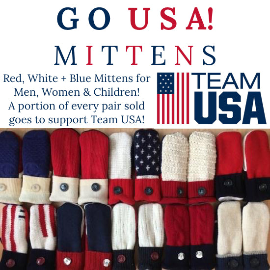 Women's GO USA! Mittens