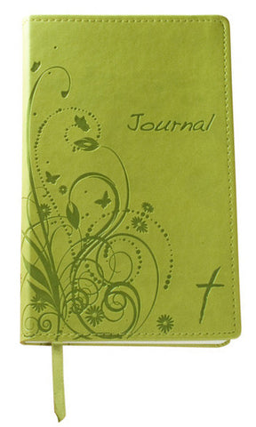 Images of Grace Christian Journal: Floral Green