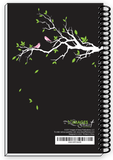 2018 BRANCHES BIRDS Inspirational Christian Daily Weekly Monthly Planner & Notebook