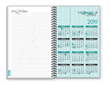 2018 TEAL FISH DESIGN Inspirational Christian Daily Weekly Monthly Planner