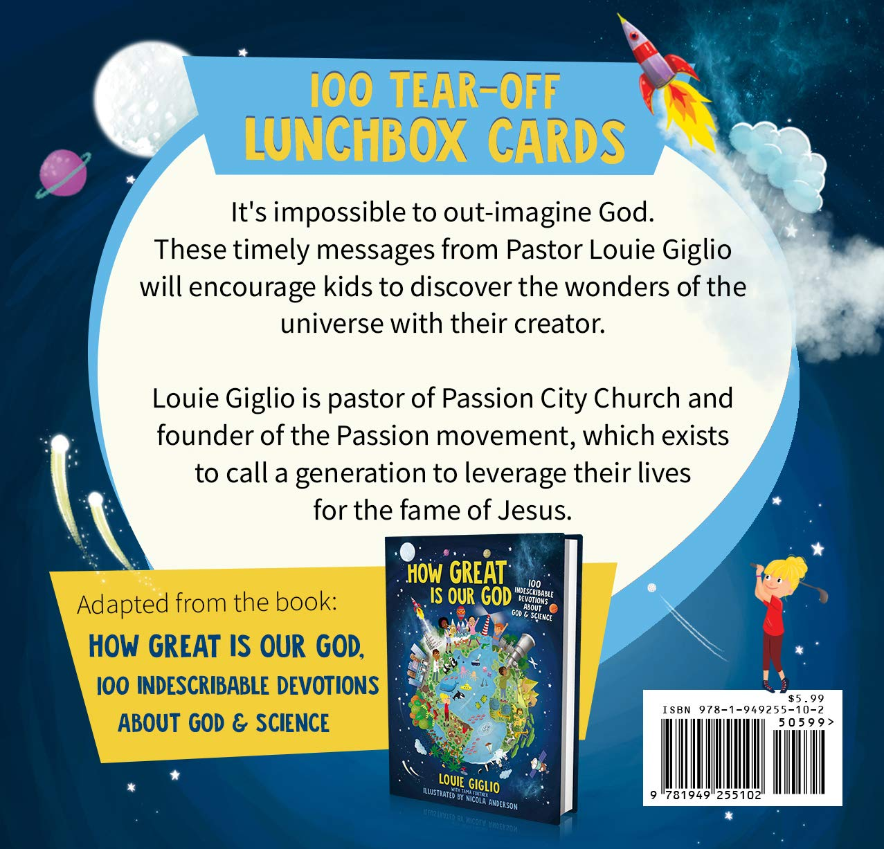 How Great Is Our God Lunchbox Cards - Louie Giglio