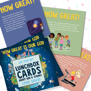 How Great Is Our God Lunchbox Cards