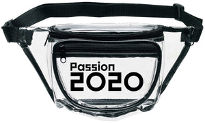 Passion 2020 Clear Fanny Pack