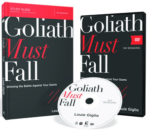 Louie Giglio - Goliath Must Fall Study Bundle