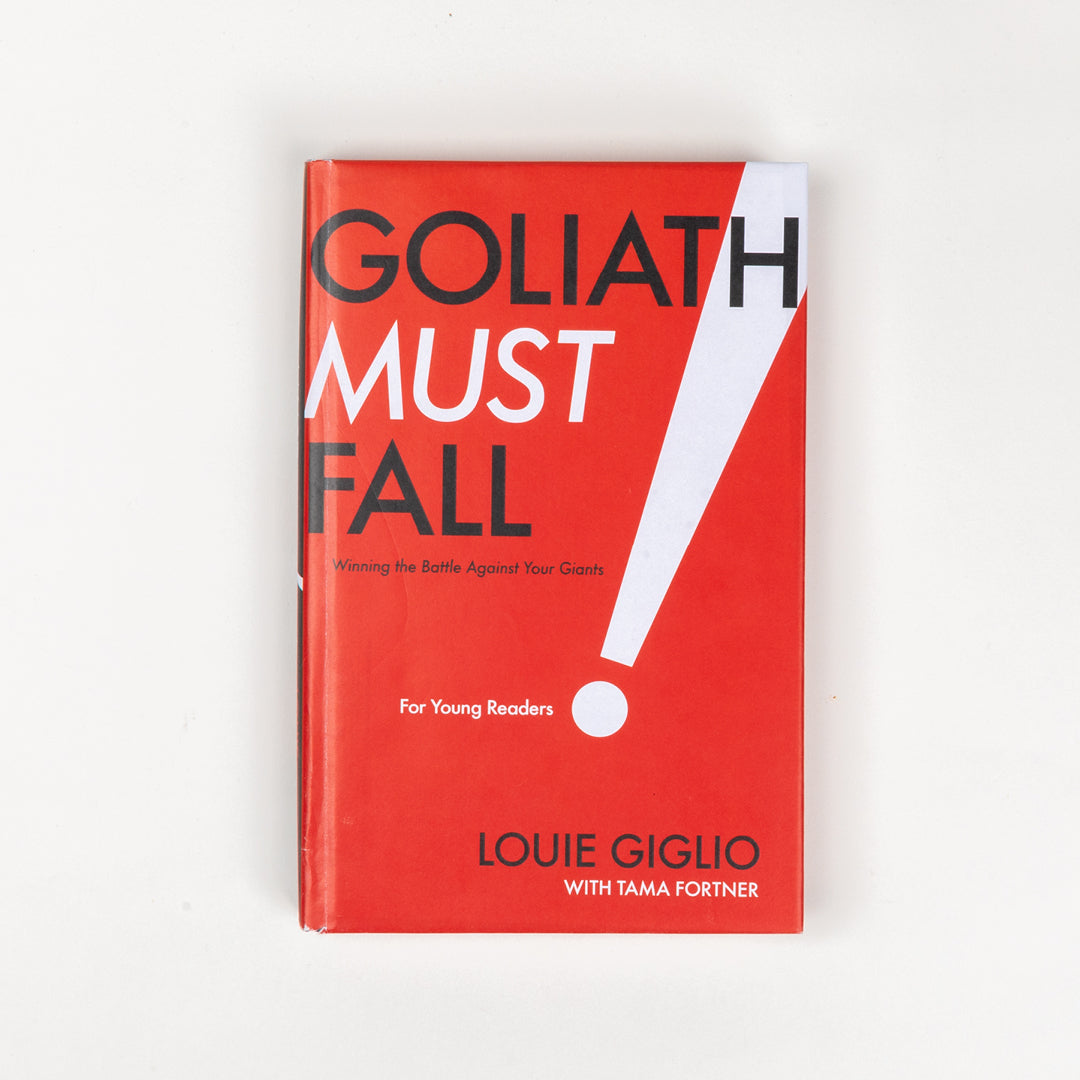 Goliath Must Fall For Young Readers - Louie Giglio