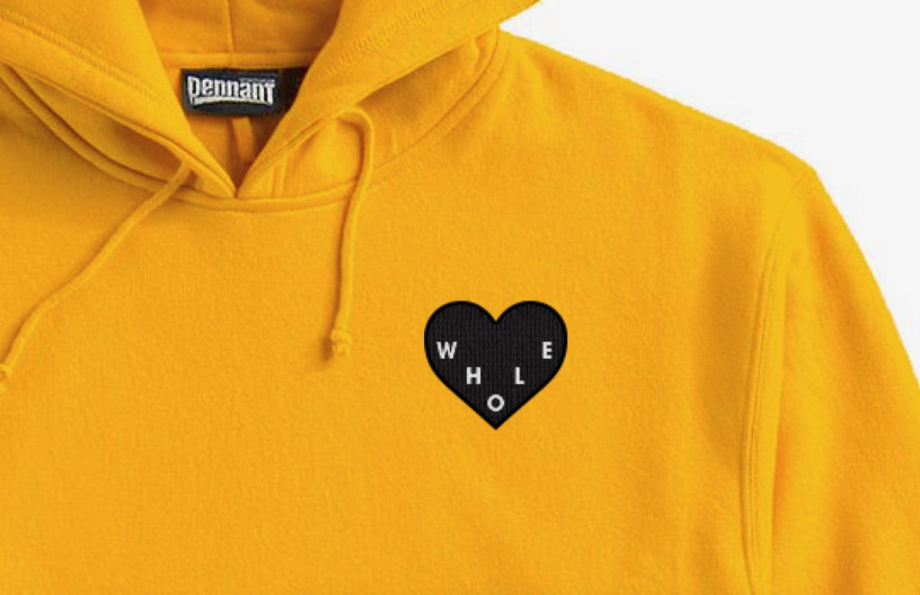 Whole Heart Athletic Gold Hoodie