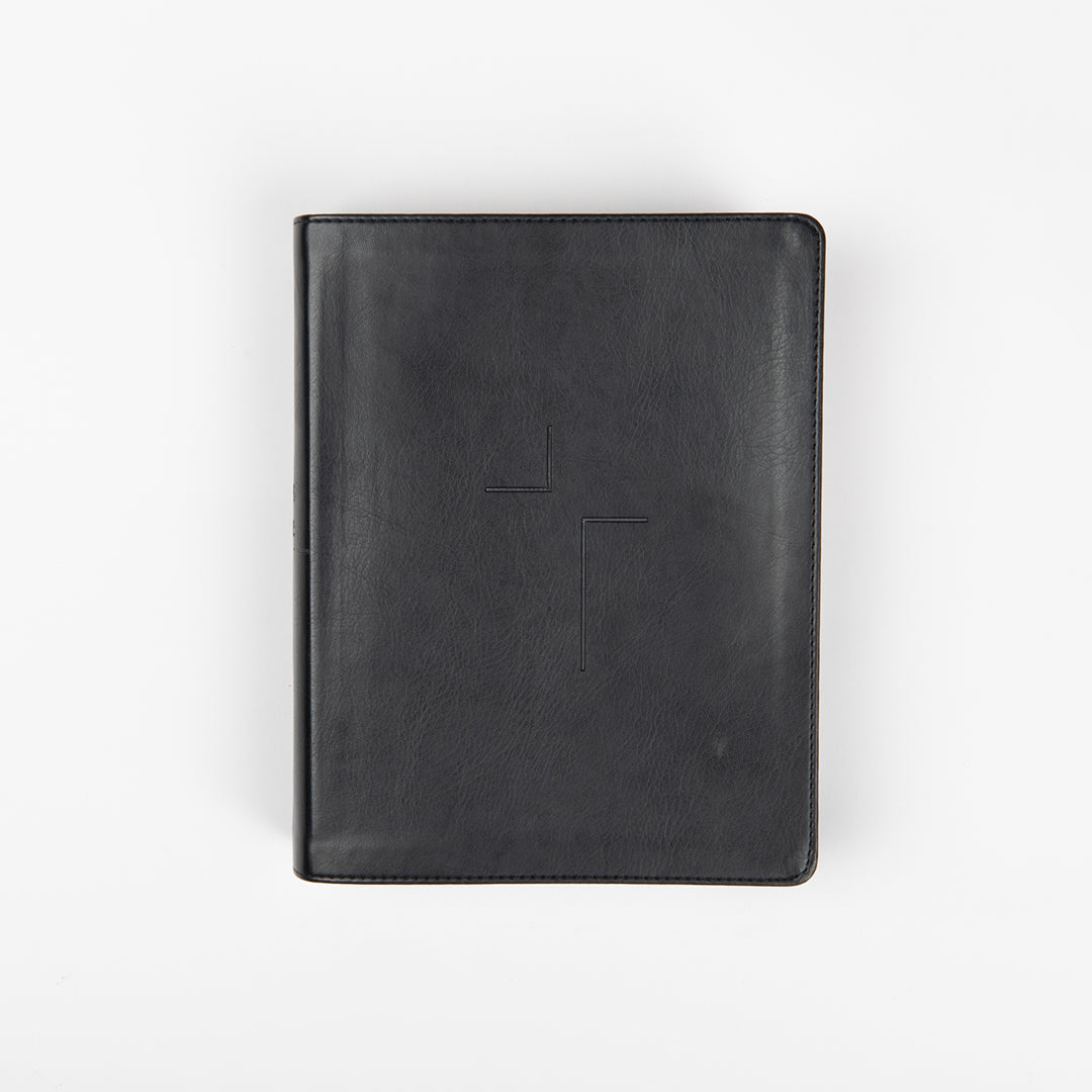 The Jesus Bible - ESV - Black Leather