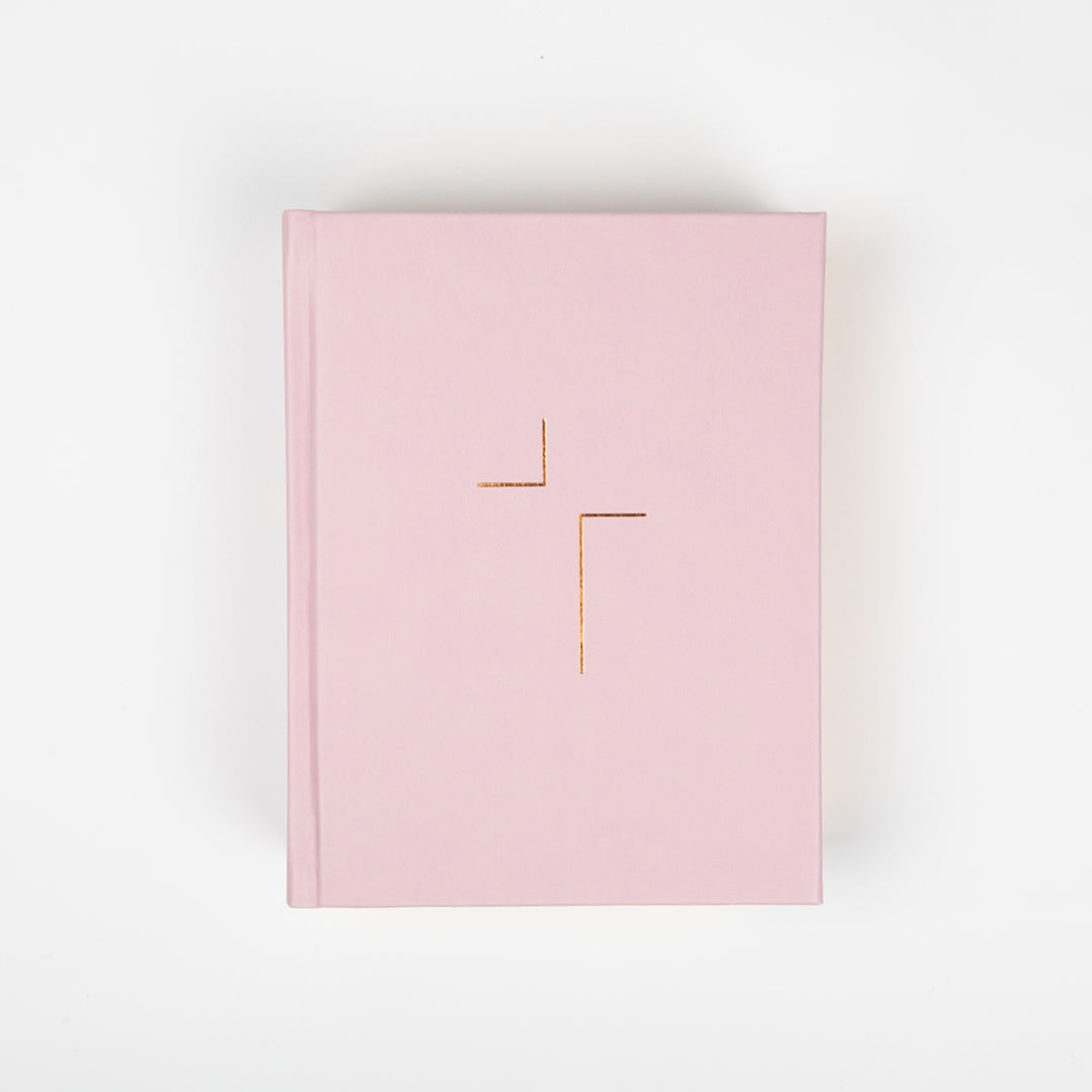 The Jesus Bible - NIV - Blush Leather