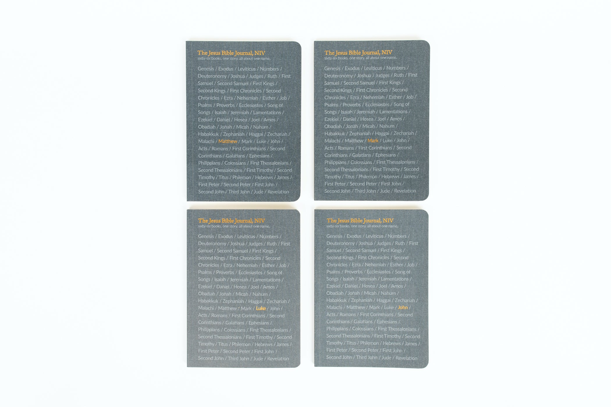 The Jesus Bible Journals - Gospel Bundle