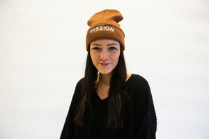 Passion 2020 Brown Beanie + Roar Digital Album