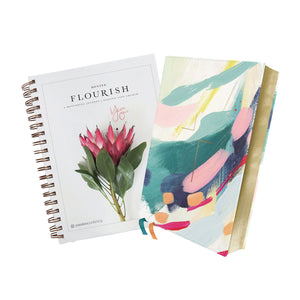 NIV Artist Edition Jesus Bible + Flourish Mentee Bundle