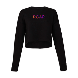 Roar Cropped Sweatshirt