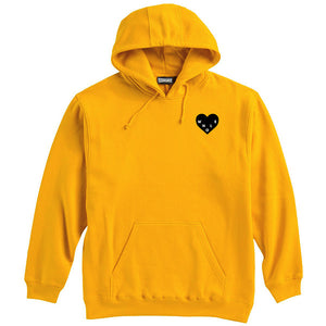 Whole Heart Passion Hoodie - Athletic Gold