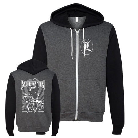Lachey's Drews Awesome Ale Zip-Up Hooded Sweatshirt