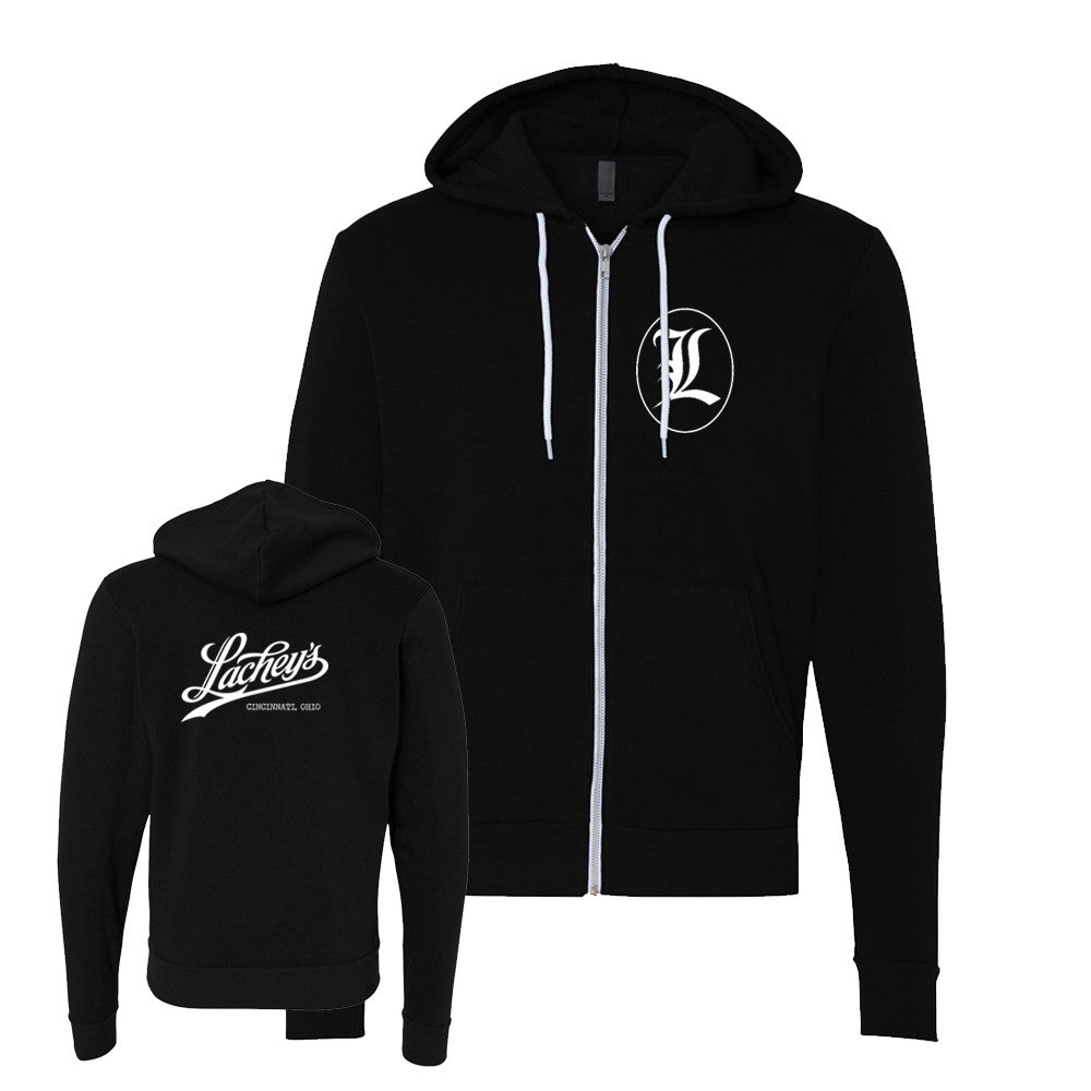 Lachey's Crew Logo Zip-Up Hooded Sweatshirt