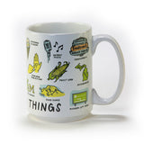Michigan Things Coffee Mug