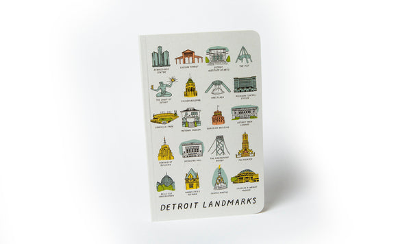 Detroit Landmarks Notebook