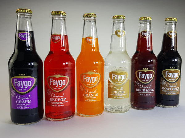 Faygo Glass Bottle